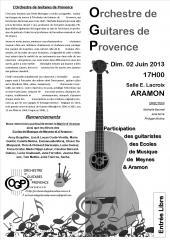 20130601 Aramon programme