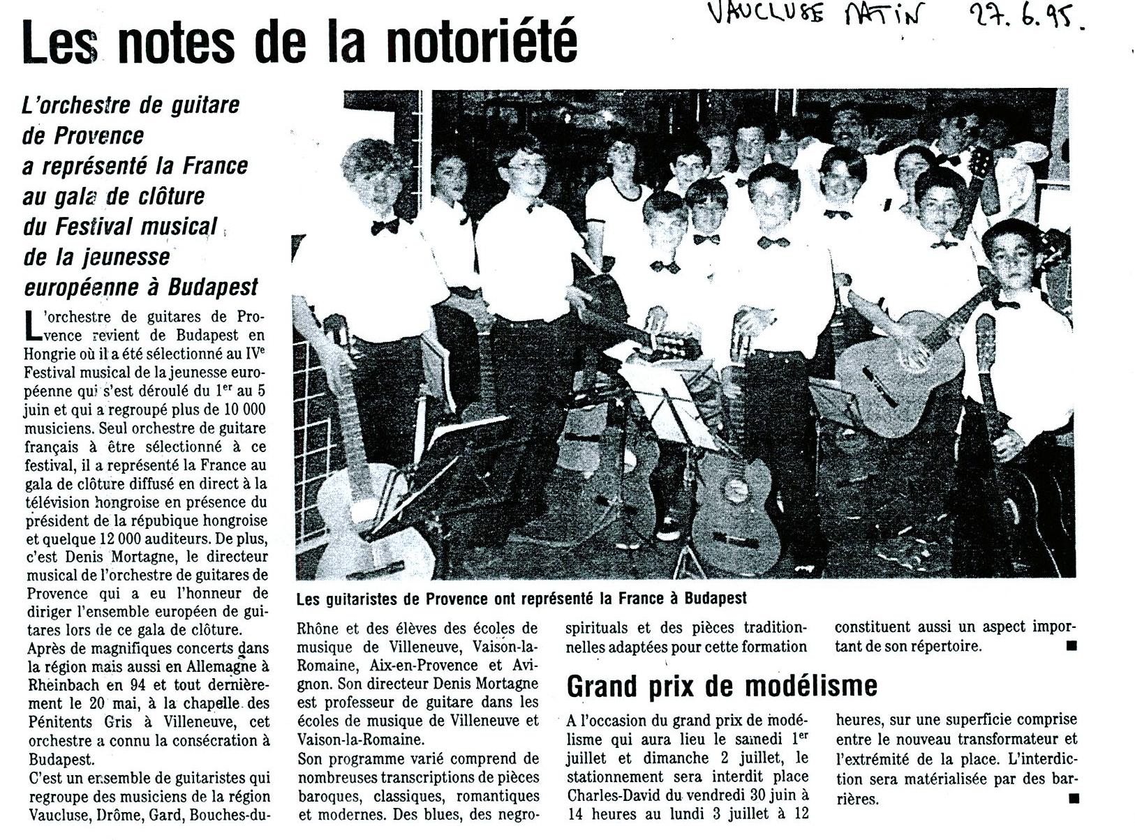19950627-vaucluse-matin-budapest